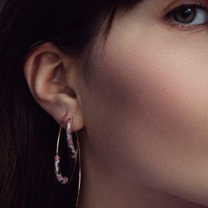 Didon Earrings Deido Python